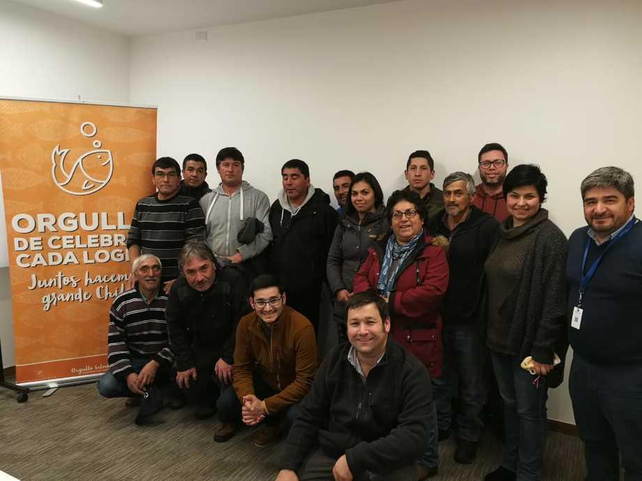 SalmonChile junto a sus empresas trabajan en un nuevo Modelo de Vinculación con la sociedad. Foto: SalmonChile.