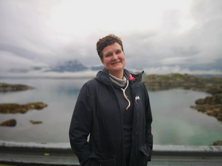 Ute Brönner er forskningsleder i Sintef, og er en av foredragsholderne under Lofotseminaret. Foto: Ole Andreas Drønen