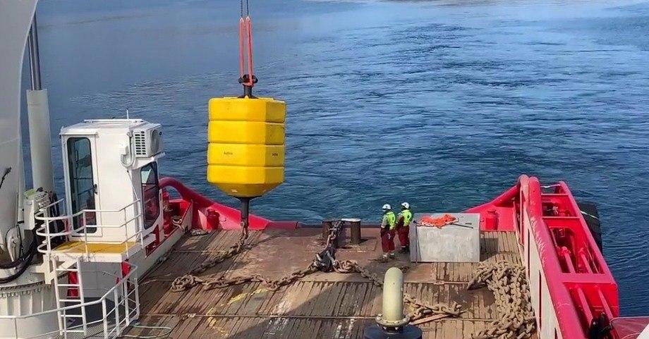 Sotra Anchor & Chain leverer monsterbøye til Nordkapp.