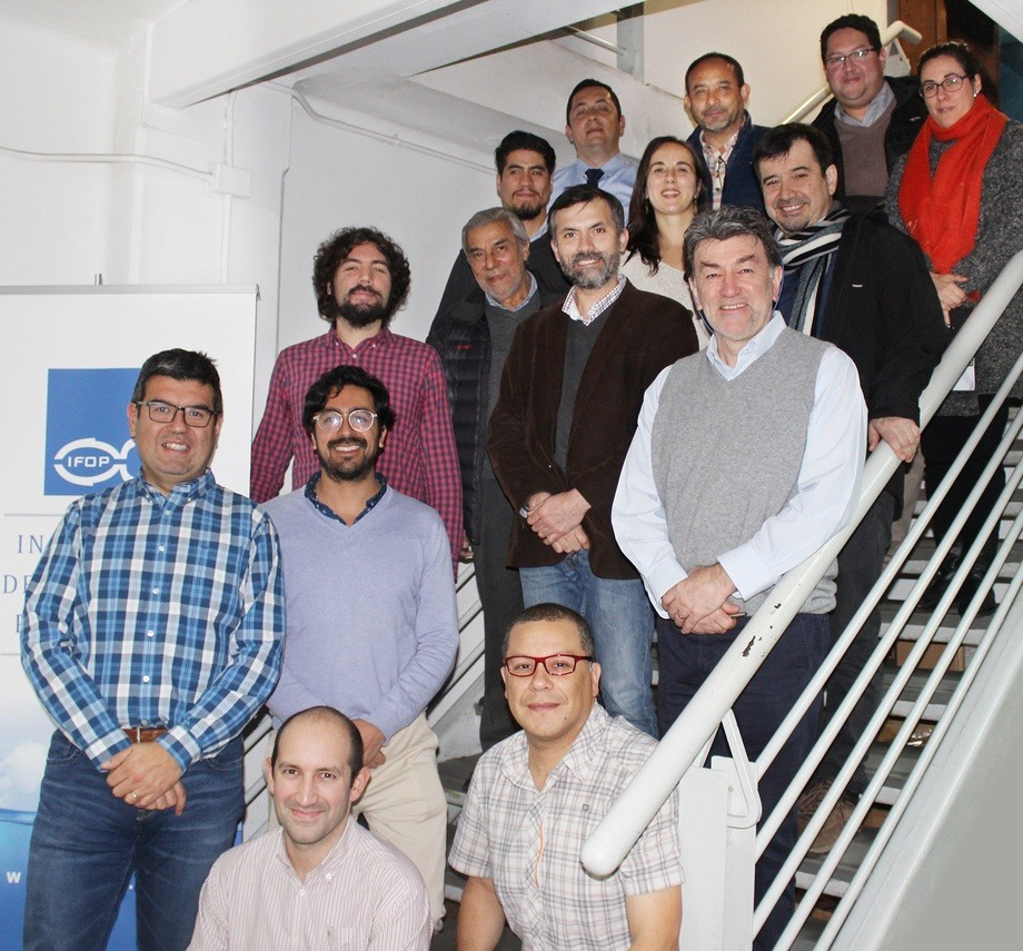 Grupo de trabajo del IFOP que lidera este proyecto. Foto: IFOP.