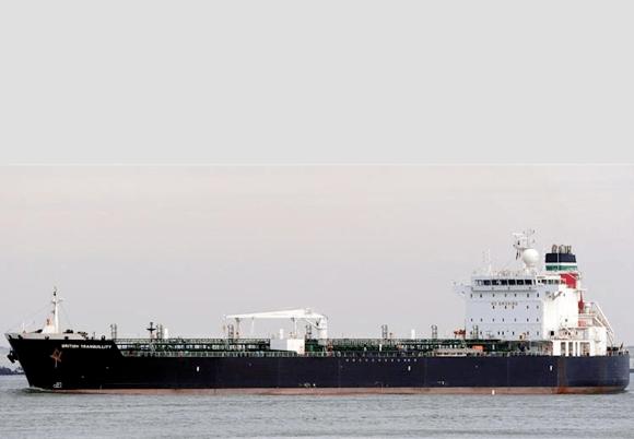 Norske «Andrea Victory» ble utsatt for sabotasjeangrep i mai. Foto: Champion Tankers