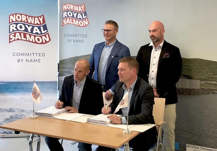 AquaOptima har inngått en kontrakt med NRS om RAS-teknologi til NRS sitt første somoltanlegg. Foto: AquaOptima