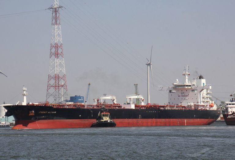 Brannen om bord i Frontline-tankeren«Front Altair» ble slukket fredag