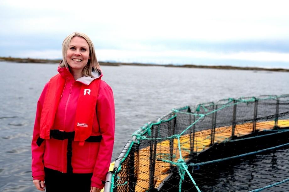 Kristin Schjetne er markedsrådgiver i markedsføringsbyrået Celero og har jobbet med en lang rekke markedsanalyser i havbruksnæringa. Foto: Celero