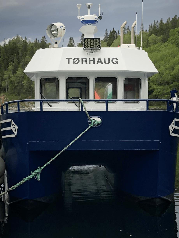 Norgeskjell har fått ny båt til 6,5 millioner kroner. Foto: Norgeskjell AS.