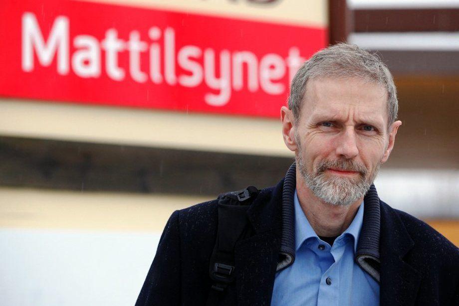 Bjørn Røthe Knudtsen, regiondirektør i Mattilsynet mener Fosen Tingrett stiller alt for høye dokumentasjonskrav i Lerøy-saken. Foto: Ove Magne Ribsskog