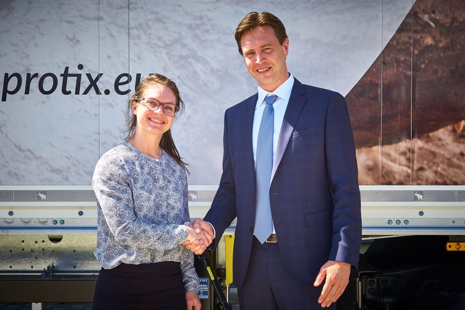 Dr. Jenna Bowyer i Skretting forteller at de er stolte av samarbeidet med Protix vil føre til en ny proteinkilde for fôrindustrien,Foto: Skretting