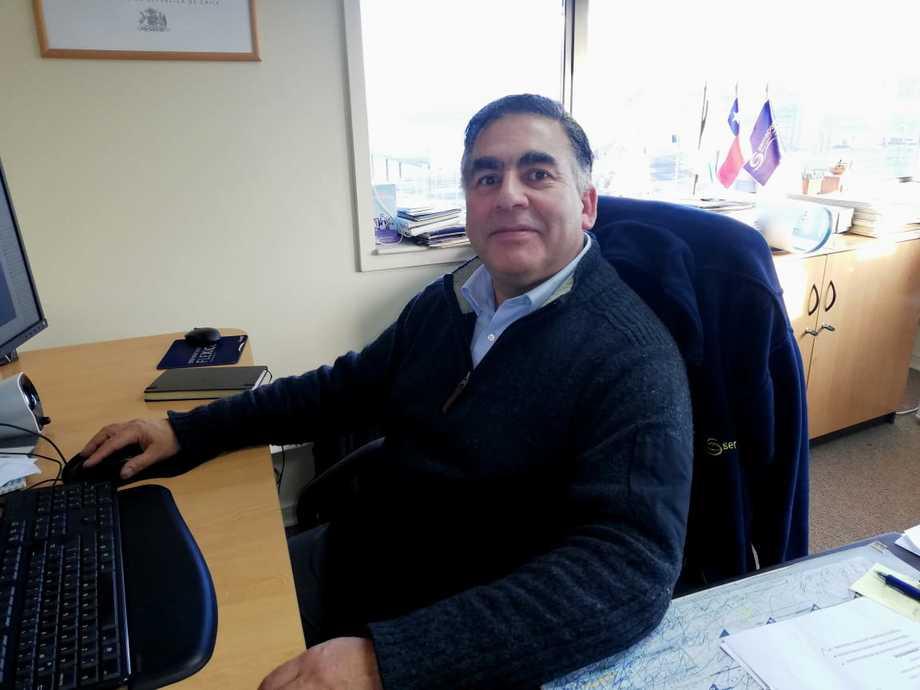 Eduardo Aguilera, director regional de Sernapesca Los Lagos. Foto: Sernapesca Los Lagos.