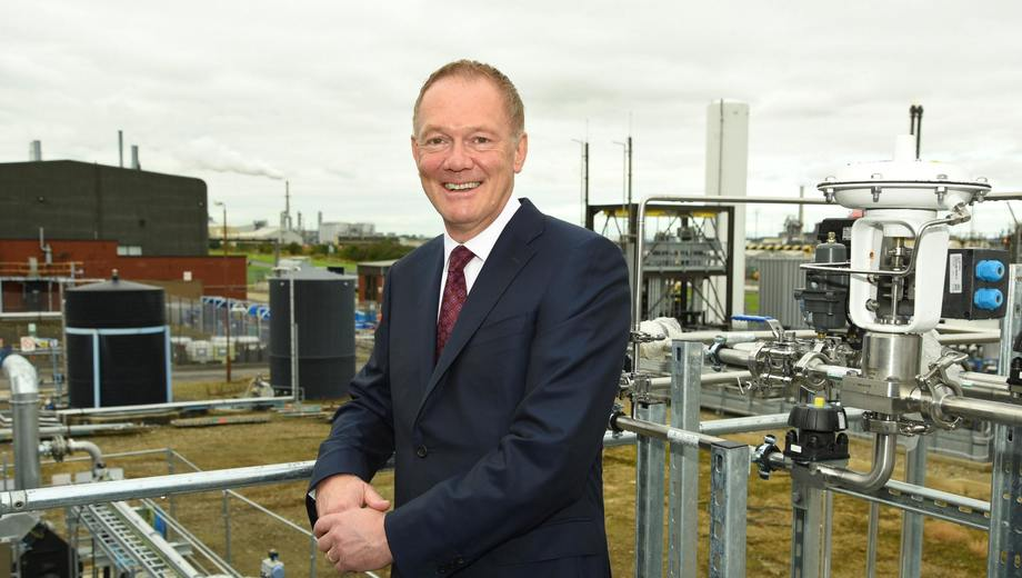 Alan Shaw in Middlesbrough, where FeedKind was developed. Photo: Calysta.