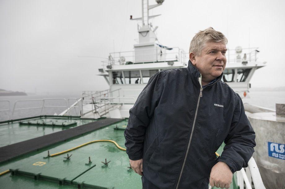 Styreleder i NCE Seafood Innovation Cluster Einar Wathne forteller at AquaCloud 2.0 vil fokusere på standardisering av havbruksdata. Foto: Cargill
