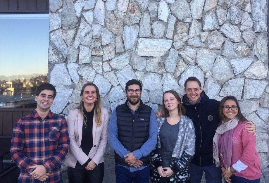 Representantes de Pincoy, Intesal y epi3lab-UC. Foto: Proyecto Pincoy.
