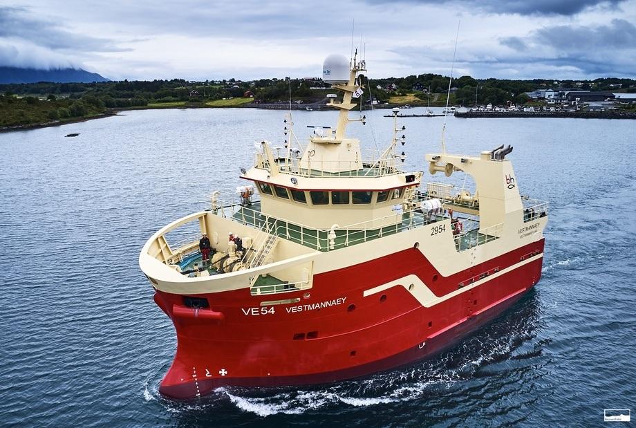 Vard Aukra skal bygge seks nye islandske trålere med finansiering fra Eksportkreditt. Foto Kjell Stian Bunes, Vard.
