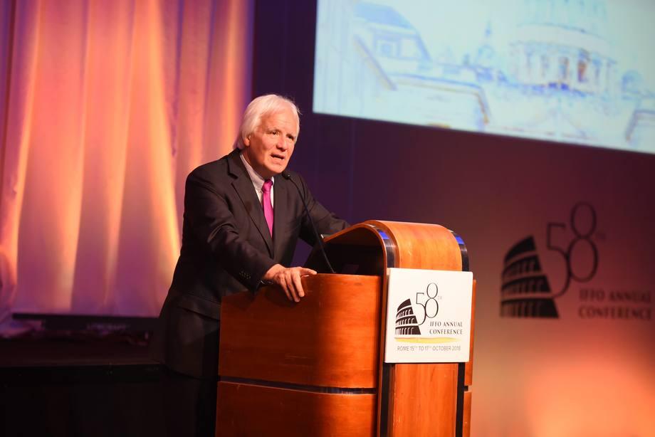 Eduardo Goycoolea, presidente de IFFO. Foto: Luca Caparrelli.