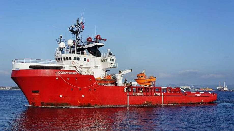 Norsk skip på vei til Middelhavet for å berge flyktninger.