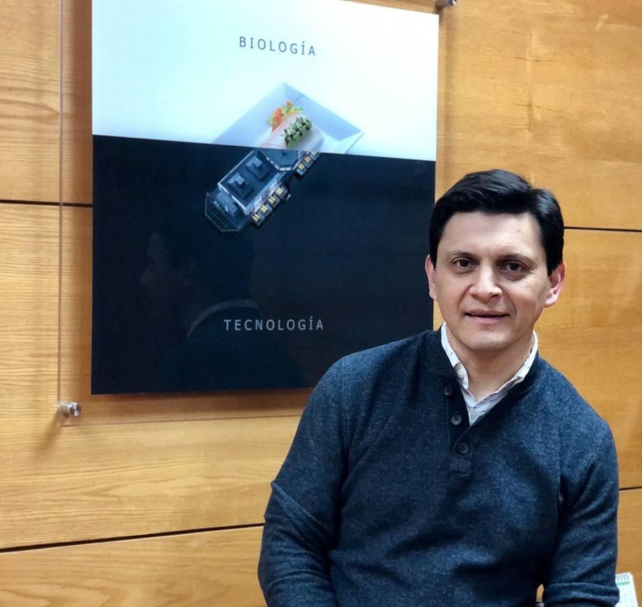 Christian Schäfer asumió como gerente general de AKVA Group Chile. Foto: AKVA Group Chile.