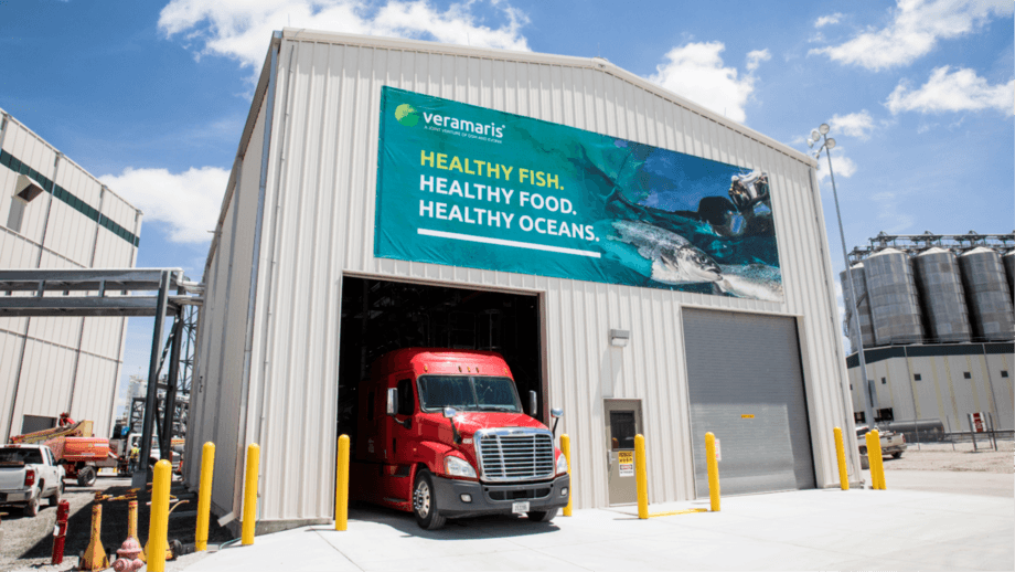 Vermaris, which is leading the F3 Challenge, recently started shipping its product from a new plant in Blair, Nebraska. Photo: Veramaris.