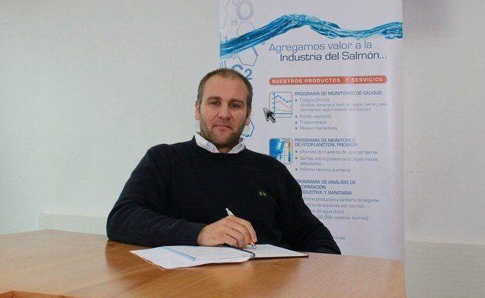 Matías Medina, director de Ciencia y Tecnología de AquaGen. Foto: Archivo Salmonexpert.