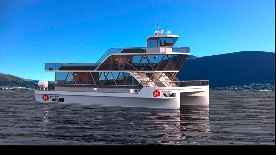 Den miljøvennlige turistbåten MS «Bard» bygges hos Maritime Partner i Ålesund