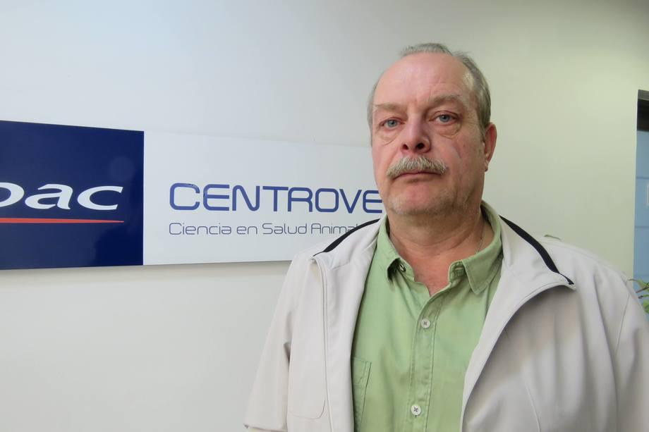 Bernd Wrege, nuevo gerente general de Virbac-Centrovet. Foto: Jonathan Garcés, Salmonexpert.