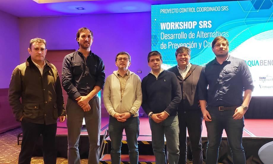 El Proyecto Control Coordinado SRS es liderado por Aquabench y apoyado por empresas salmonicultoras junto a Intesal. Foto: Aquabench.