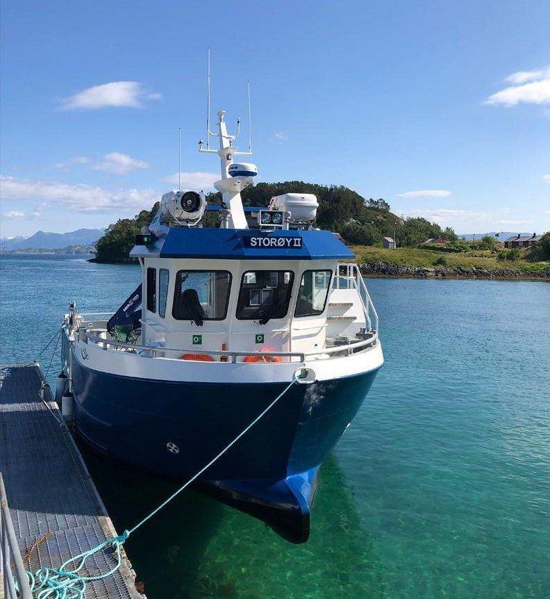«Storøy II» er overlevert til Håløy Havservice. Foto: Greger Samuelsen/Folla Maritime