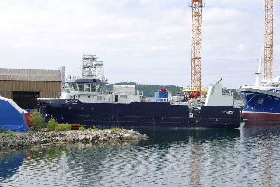 MS «Seihaust» er den første prosessbåten i flåten til Seistar Holding.