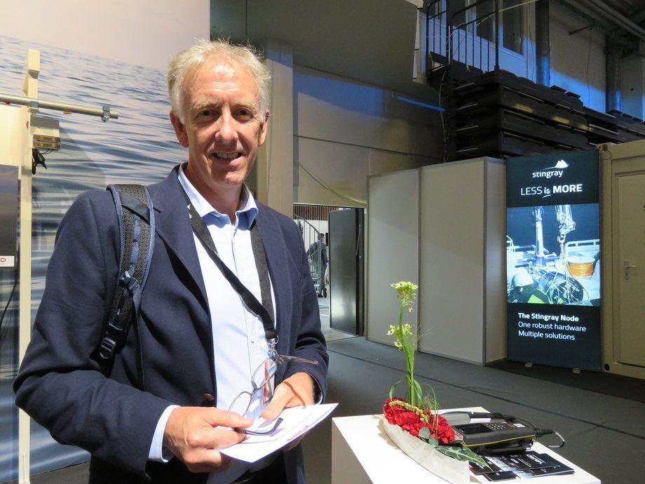 Director de Finanzas de Cermaq Chile, Morten Naerland. Foto: Karla Faundez, Salmonexpert.