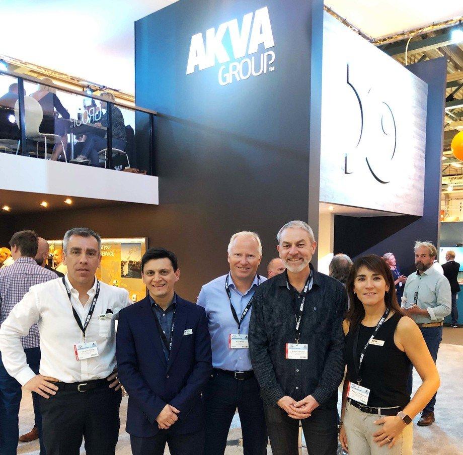 La empresa se encuentra apostando al cultivo de salmón en tierra. Foto: AKVA Group.