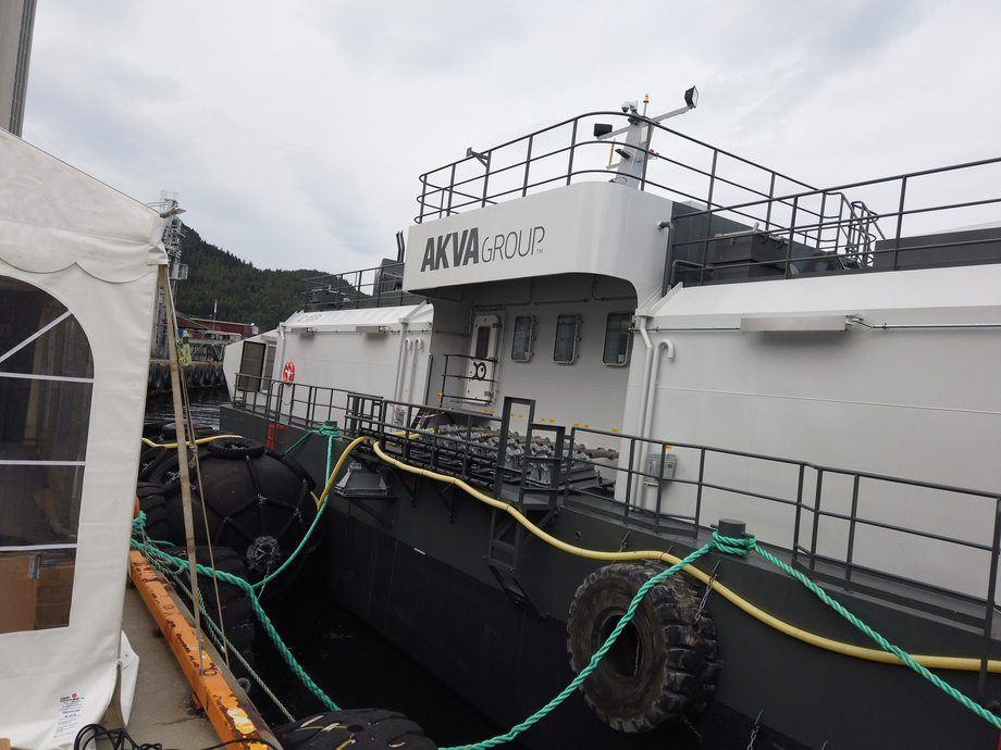 Akva Group viste frem sin nyeste flåte under Aqua Nor 2019. Foto: Ole Andreas Drønen