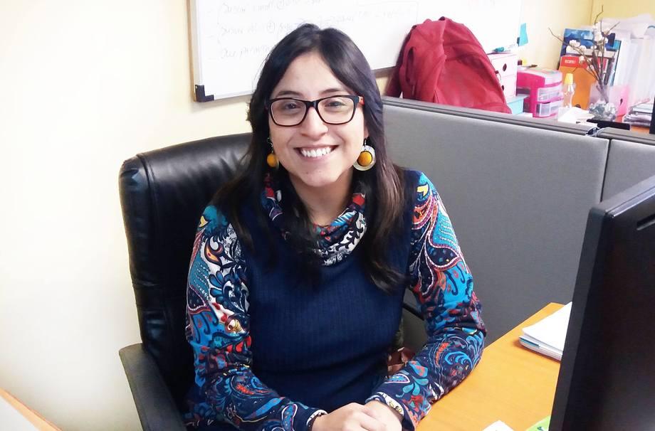 Analista de Producción de Aquabench, Lorena Cataldo. Foto: Aquabench.