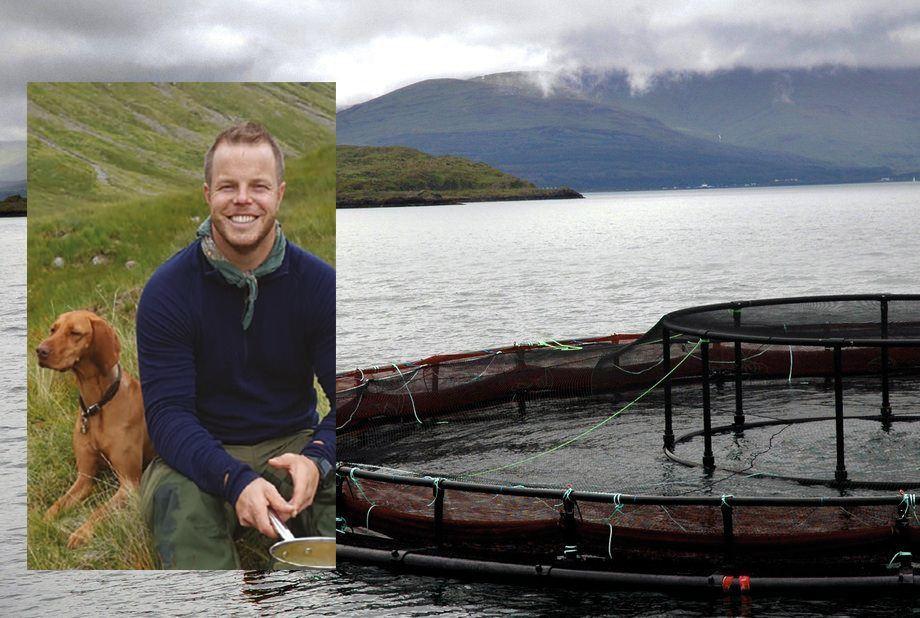 Martin Røed tar med seg mye erfaring fra Skottland til Norge. Foto av Martin Røed: Privat. Foto av Mowianlegg i Skottland: Pål Mugaas Jensen.