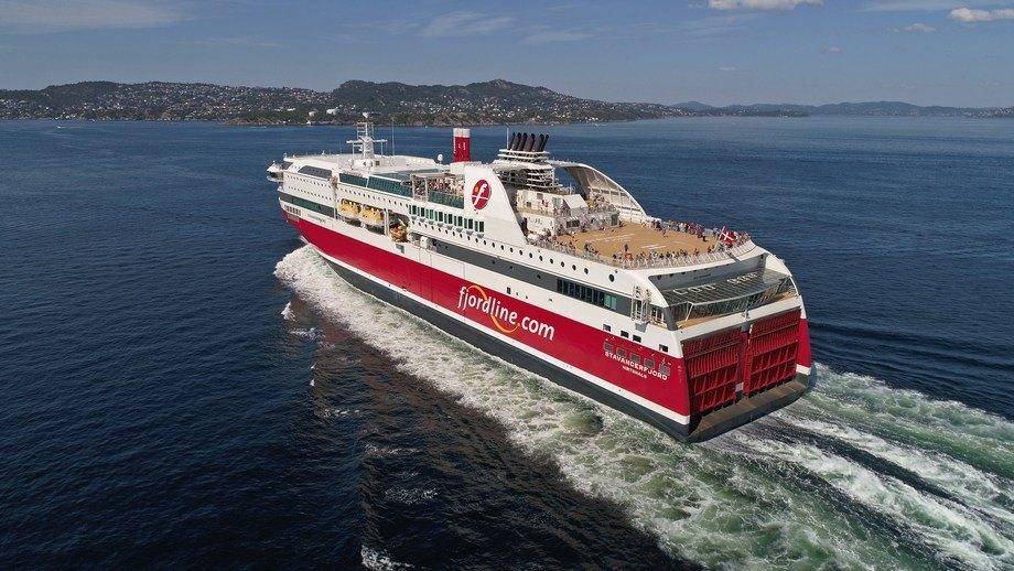 MS «Stavangerfjord». Foto: Erik Ask