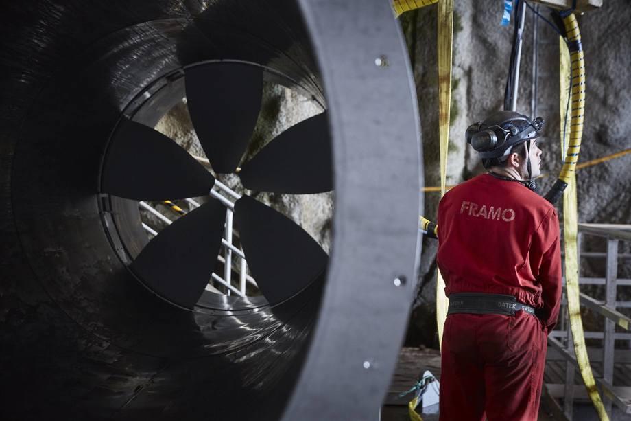 Framo har skal levere pumpesystem til Andfjord Salmon. Foto: Framo