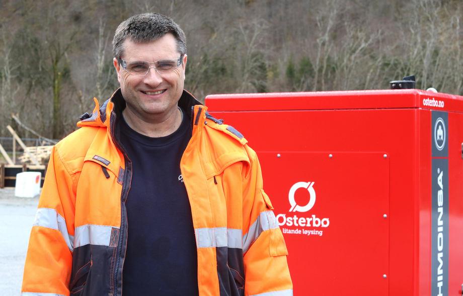 Steinar Holen går over i ei ny rolle som driftssjef i selskapet. Foto: Østerbø Maskin