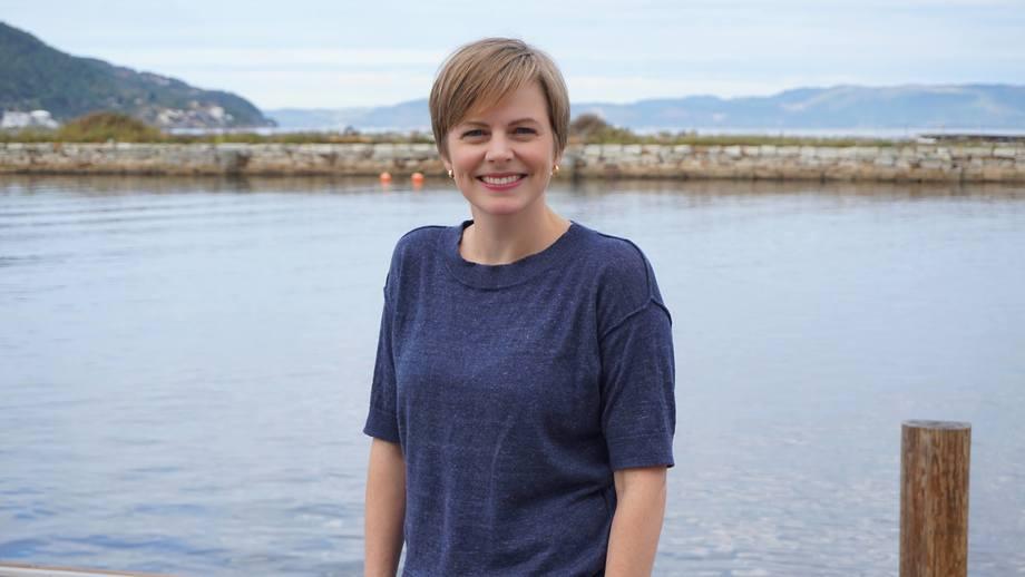 Ida Grong Aursand jobbet før med håndtering av fisk hos Sintef, nå trer hun inn i den nye rollen som forretningsutvikler. Foto: Sintef.