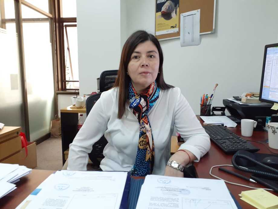 Marcela Lara, subdirectora de Acuicultura de Sernapesca. Foto: Sernapesca.