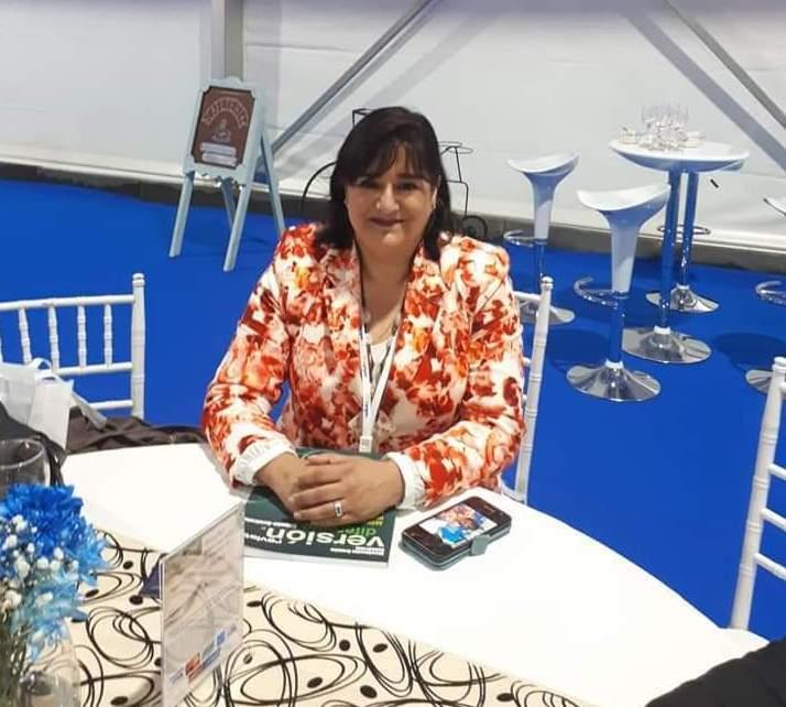 Elizabeth Pulgar, presidenta del sindicato Trusal-Salmones Pacific Star y secretaria de Fetrasalmon. Foto: Elizabeth Pulgar.