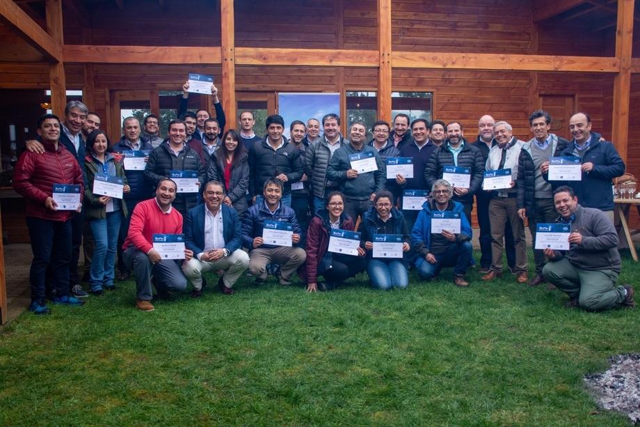 """Un total de 43 personas de 21 empresas asistieron al """"BioMar Training Program: Curso de Recirculación Aplicada"""". Foto: BioMar."""