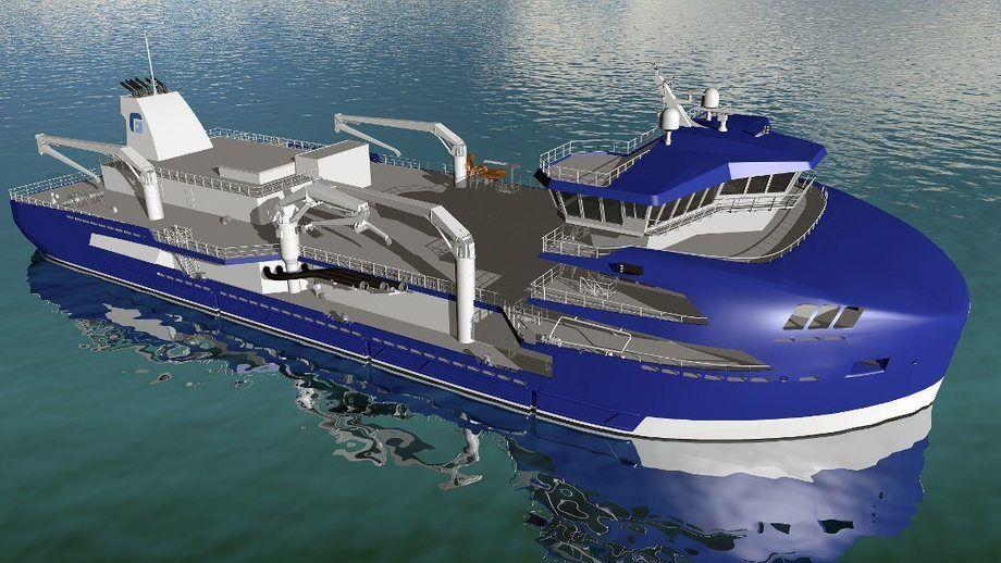 Brønnbåten skal bygges ved Sefine Shipyard i Tyrkia. Foto:  Møre Maritime AS / Frøy Rederi AS
