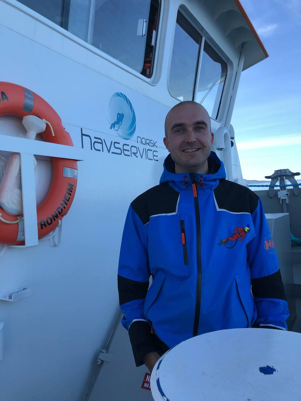 Hans Christian Myhre er ansatt som operativ leder i Norsk Havservice AS. Foto: Norsk Havservice