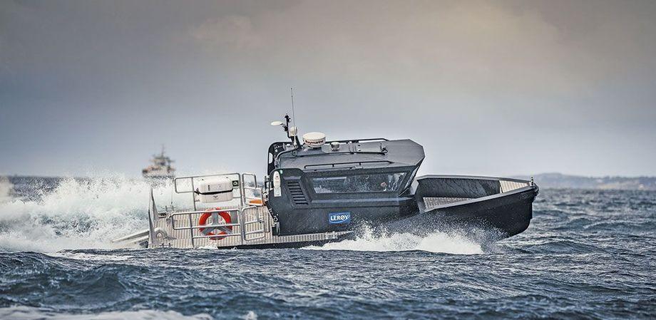 «Ros» er overlevert til Lerøy Vest. Foto: Skarsvaag Boats