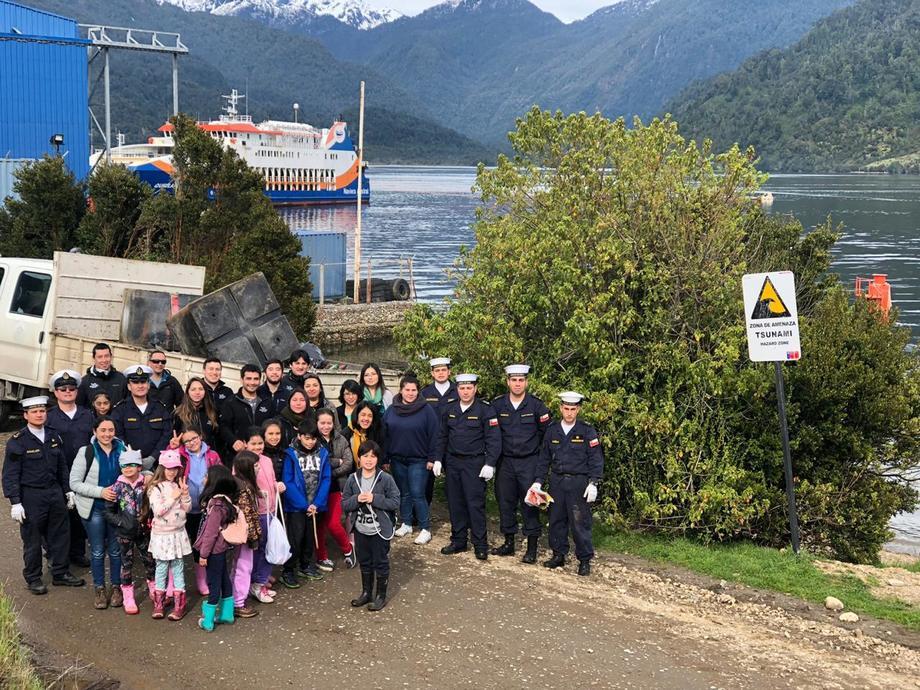 Las actividades se extenderán hasta esta semana. Foto: Mowi Chile.