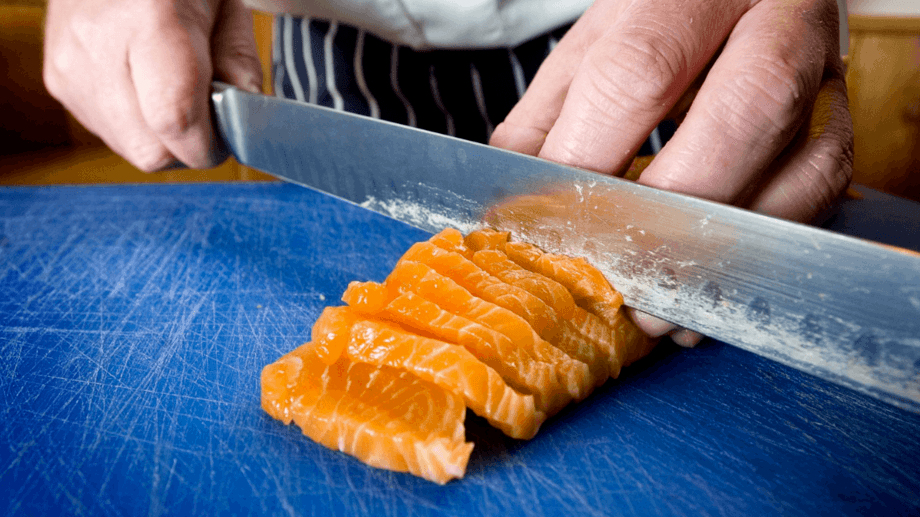 Filetes de salmón escocés quedaron fuera de la lista de aranceles impuestos por EE.UU. Foto: SSPO.
