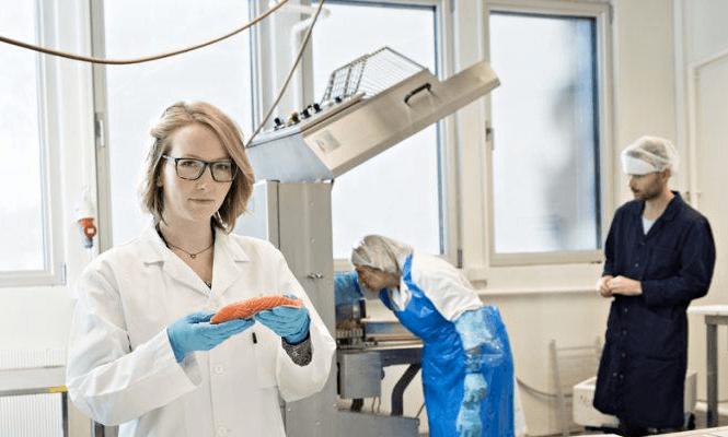 Forskningen til Siri Storteig Horn i Nofima kan bidra ytterligere til å utnytte omega-3 i fôret mer effektivt. Foto: Jon-Are Berg-Jacobsen/Nofima.