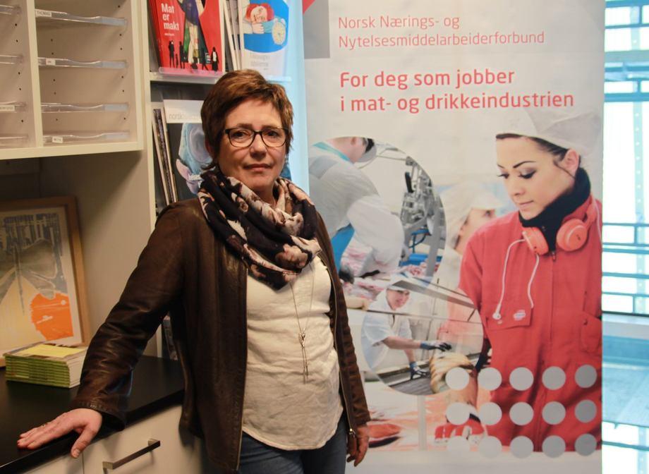 Forbundssekretær i NNN Ann-Solveig Sørensen mener at regjeringen mangler fullstendig forståelse for sjømatindustriens problematikk når det gjelder råvaretilgang. Foto: NNN.