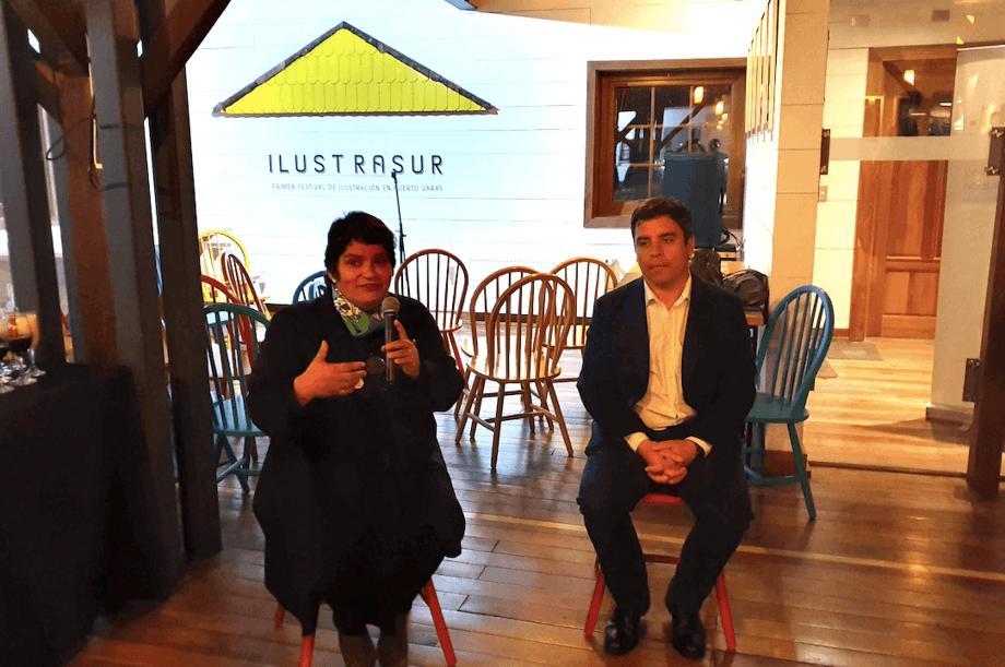 Carol Hullin y Enrique Bravo, expositores del segundo Fish Great Talks. Foto: Salmonexpert.