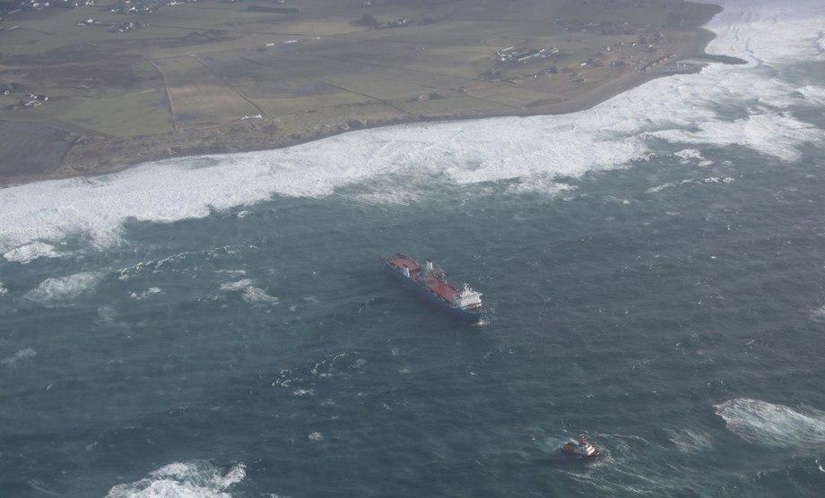 «Harrier», tidligere «Tide Carrier»  kom i drift utenfor Jæren 22. februar 2017. FOTO: Kystverket