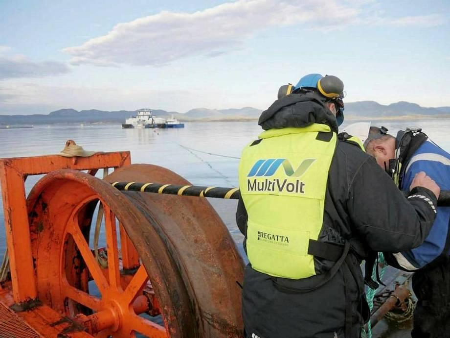 Multivolt har fått støtte til å kartlegging av potesnial for elektrifisering av havbrukslokalitetar. Foto: Multivolt