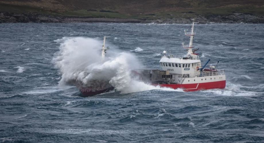 The Johnson Marine vessel Viking Viknes, one of 27 boats operated by AquaShip. Photo: AquaShip.