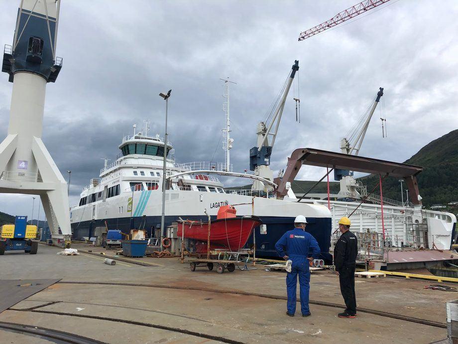 Flåteavtalen omfatter mer enn 100 fartøy. Foto: Westing